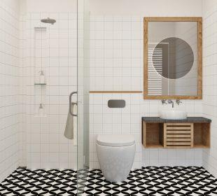 Różne oblicza eklektyzmu w... łazience