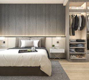 Garderoba w sypialni - tak czy nie?