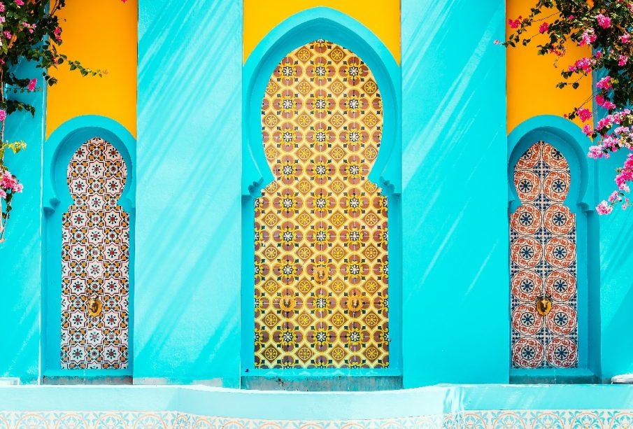 Łazienka w stylu marokańskim