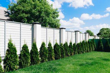 Najmodniejsze ogrodzenia - LATO 2020
