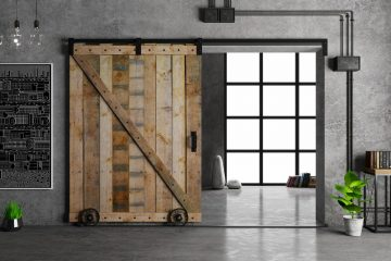 Nowoczesne drzwi ukryte w ścianie - zobacz inspiracje!