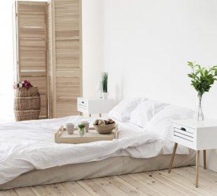 Skandynawia w sypialni - jakie kolory wybrać?