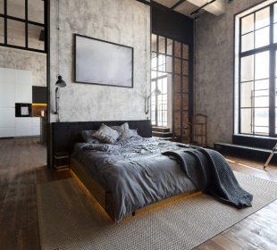 Sypialnia w stylu industrialnym - o jakich elementach wystroju trzeba pamiętać?