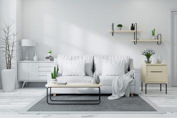 Wybieramy sofę z funkcją spania w stylu skandynawskim