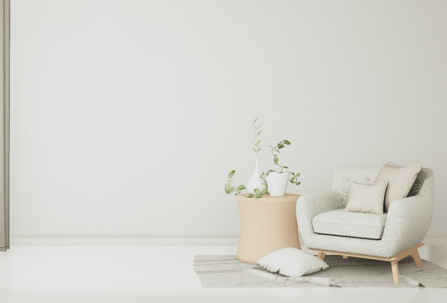 4 ponadczasowe kolory w minimalistycznym wnętrzu