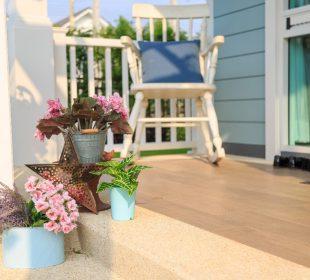 6 pomysłów na balkon w stylu rustykalnym