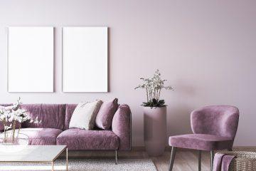 Salon w stylu glamour - 5 dekoracji, które musisz mieć