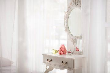 Toaletka w sypialni - 6 inspiracji