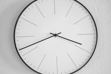 Zegar na całą ścianę - aranżacje