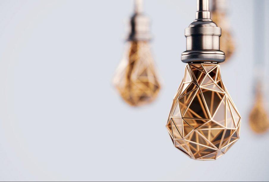 Geometryczne lampy - kwintesencja loftu